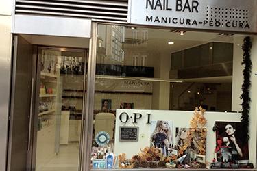 El equipo OPI Nail Bar