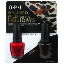 OPI WRAPPED WILD FOR THE HOLIDAYS