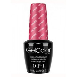 OPI RED GEL COLOR
