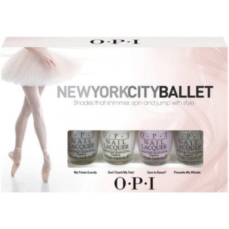 NEW YORK CITY BALLET MINI PACK OPI